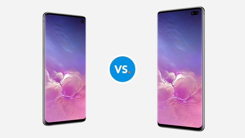 Samsung S10 versus Samsung S10 Plus