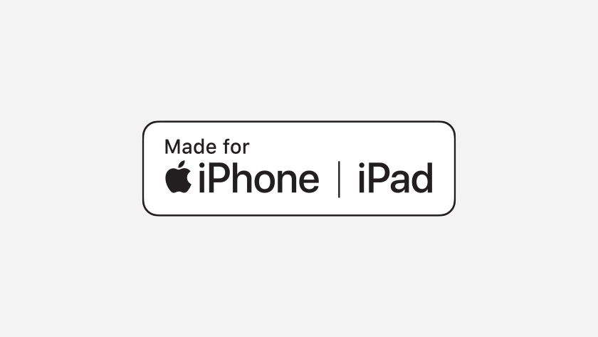 het MFI logo (made for iPhone iPad)