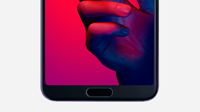 Huawei P20 fingerprint sensor