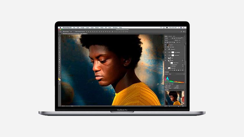 Retouche photo MacBook