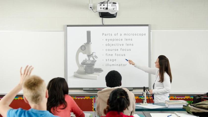 Beamer educatie school