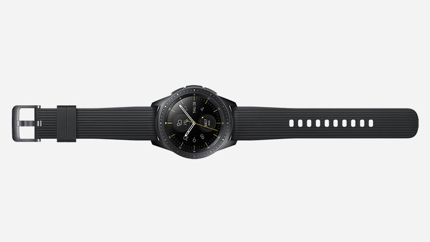 Samsung Galaxy Watch moins de capacité de stockage