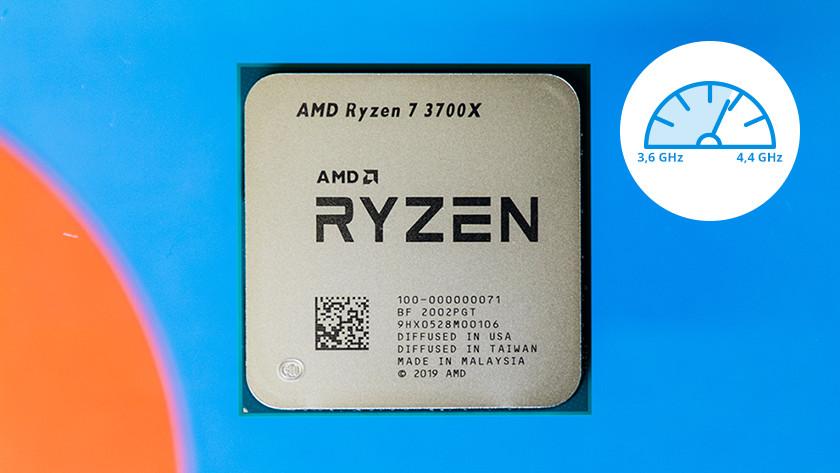 Kloksnelheid van processor in GHz