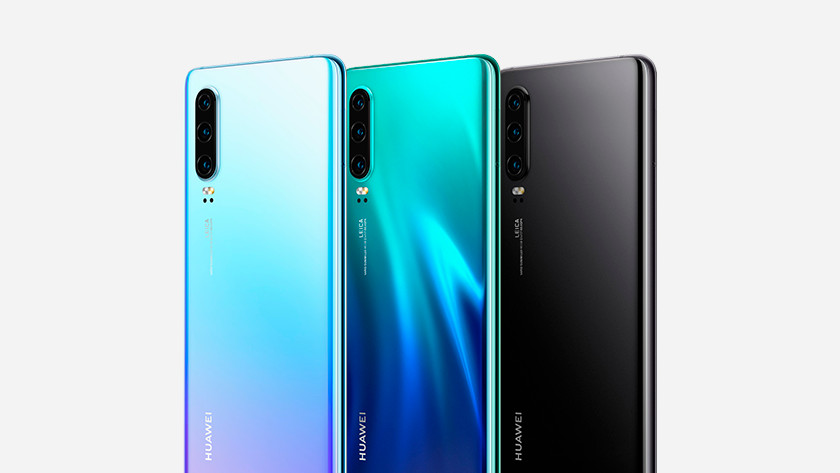 Huawei p30 back color