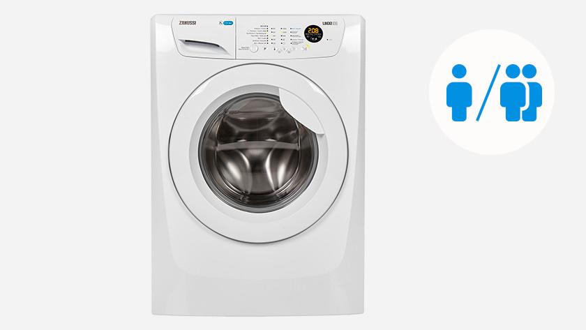 Wasmachine voor 1 of 2 personen