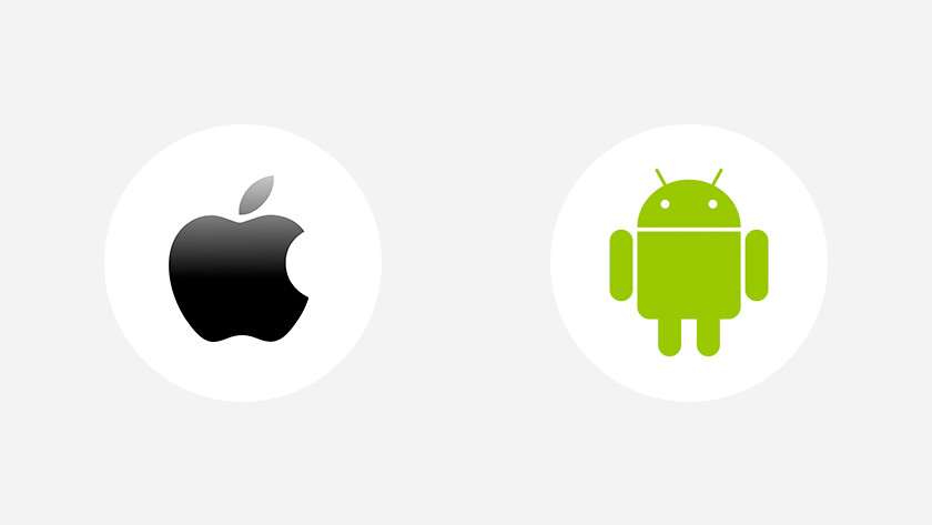 Software updates Android iOS