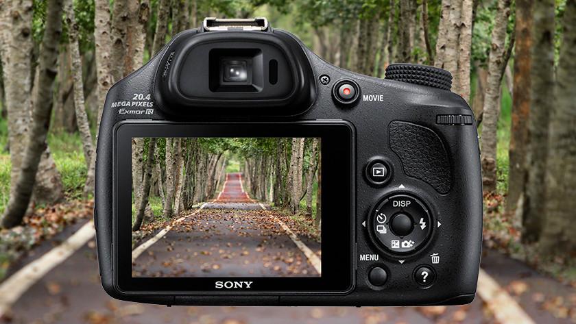 Beeldkwaliteit Sony CyberShot DSC-HX400V