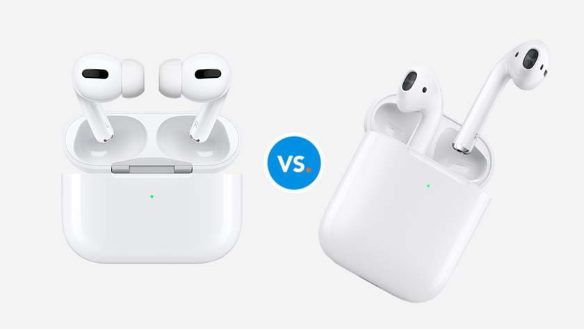 AirPods Pro versus AirPods 2