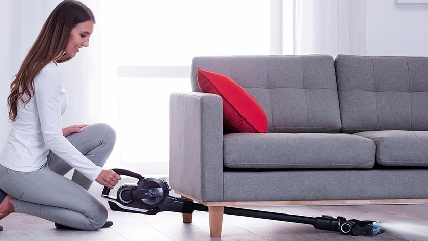 Noise level stick vacuum