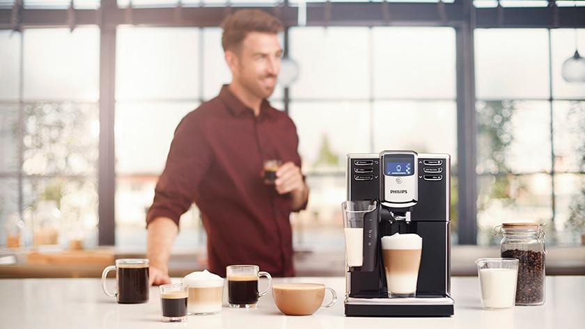 Le goût des spécialités de café et de lait