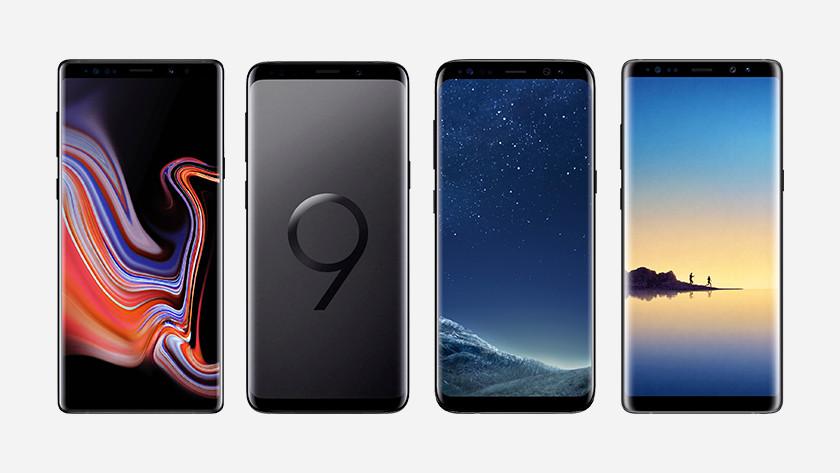 Samsung Galaxy Note 9, S9, Note 8, S8