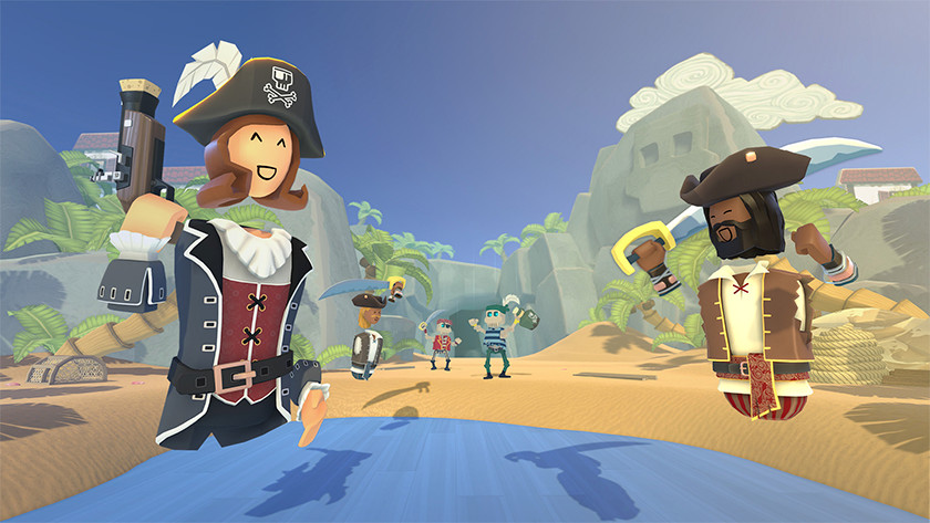 Rec Boom piraten spel game Virtual Reality