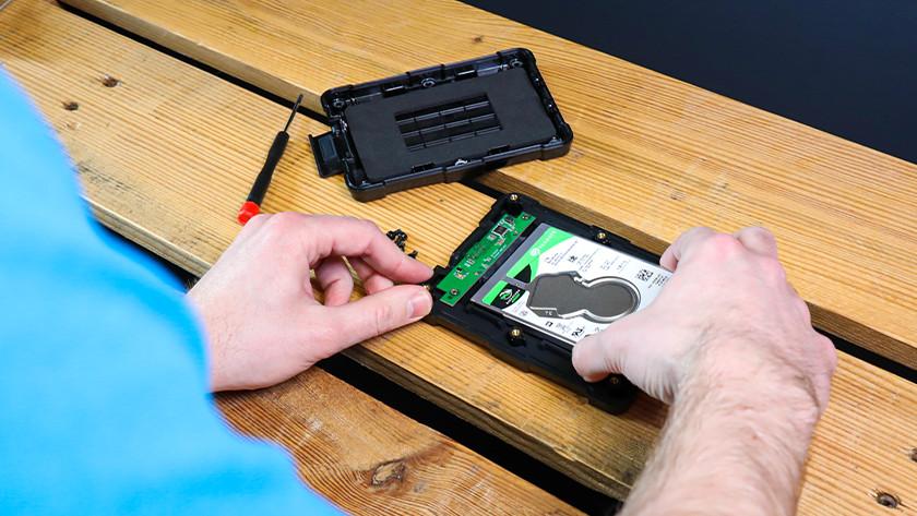 Boîtier pour SSD de 2,5 pouces