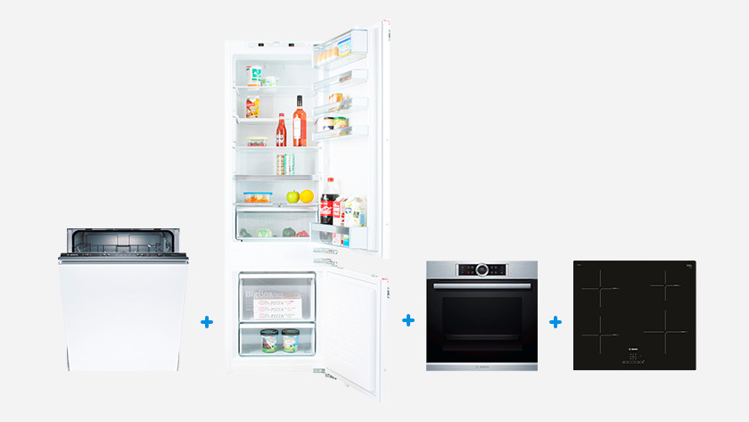 4 Bosch built-in appliances