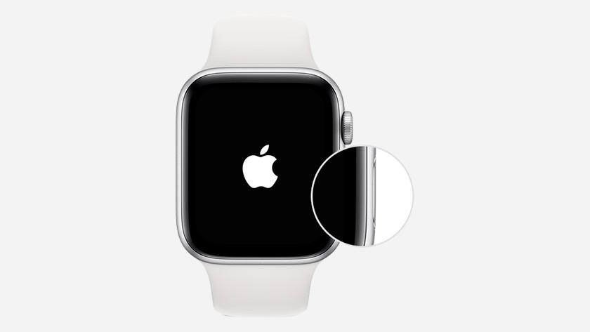 Allumer l'Apple Watch