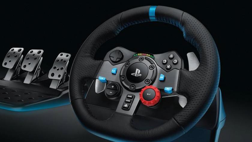 Racen is makkelijker met een race stuur
