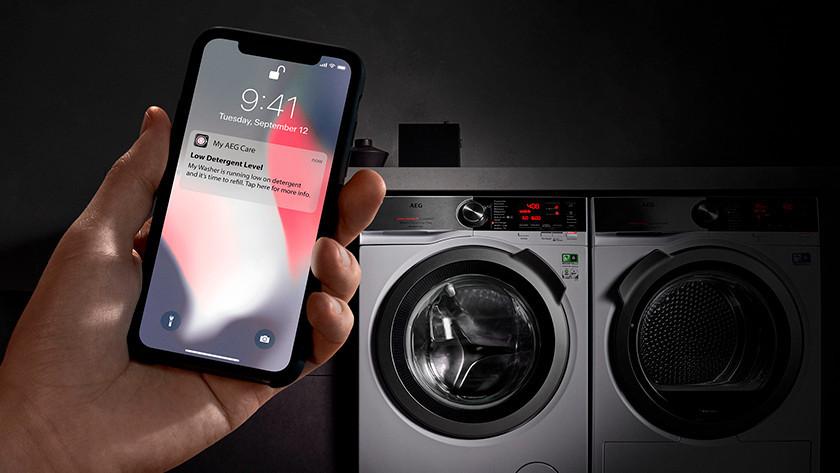 AEG smart wasmachine