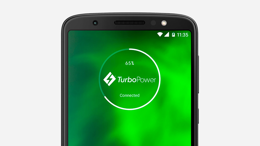 Charge rapide Moto G6