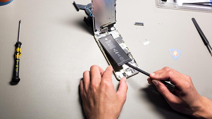 Coolblue Huawei batterij reparatie