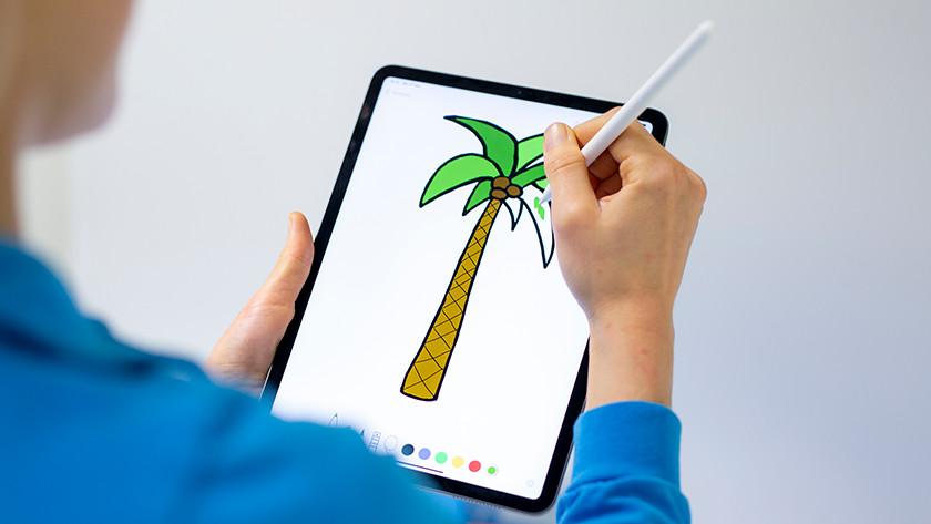Apple Pencil 1 gebruiken