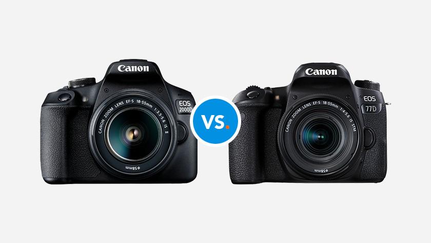 Canon spiegelreflexcamera's