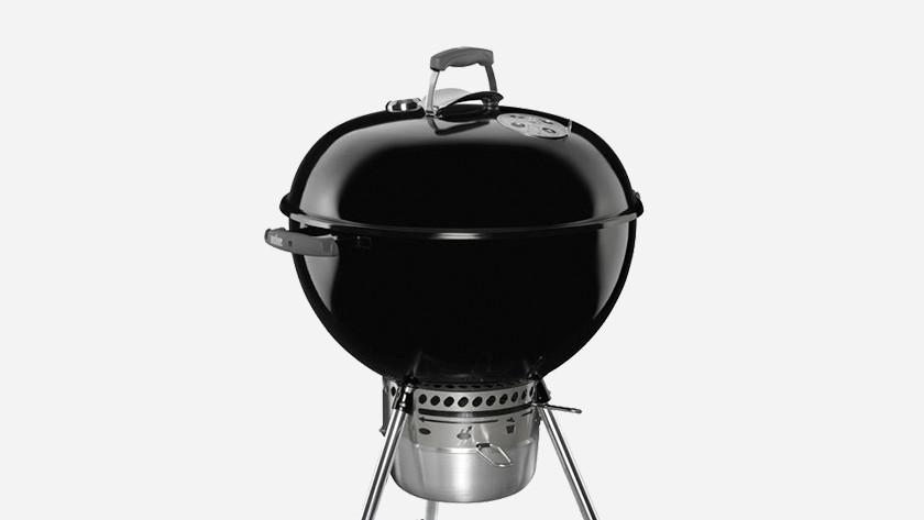 Briketten voor barbecues met deksel