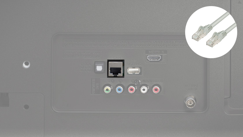 LG internet aansluiting