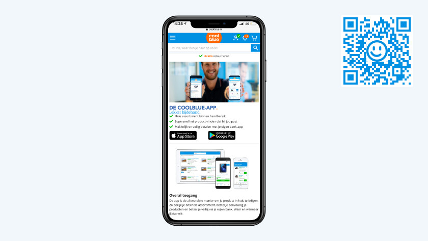 Download Coolblue app