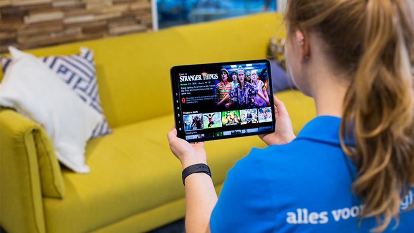 Series kijken op Apple iPad Pro