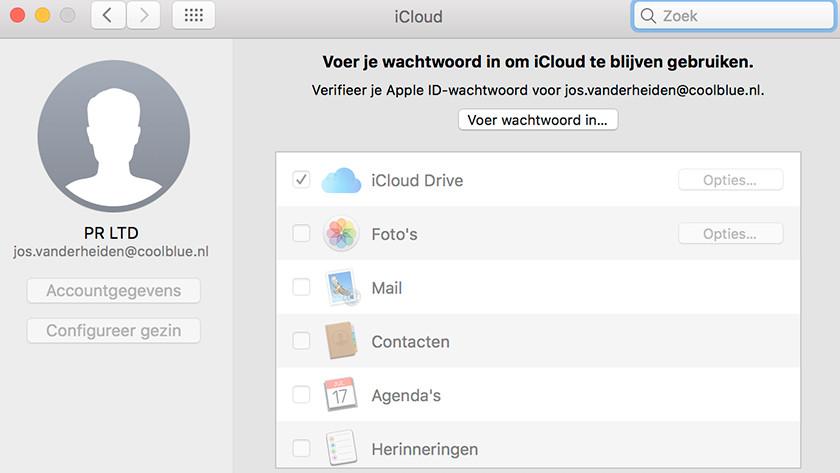 Aanmelden met Apple ID