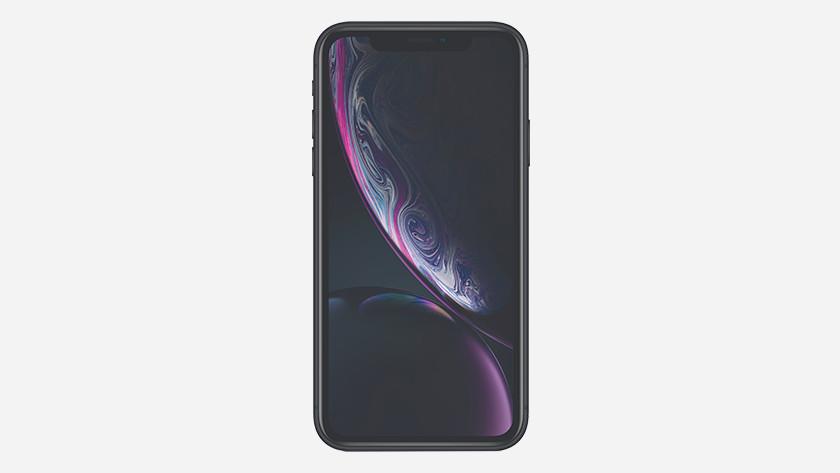 Het scherm iPhone Xr