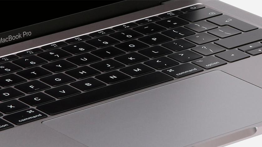Inloggen op MacBook Pro 2017