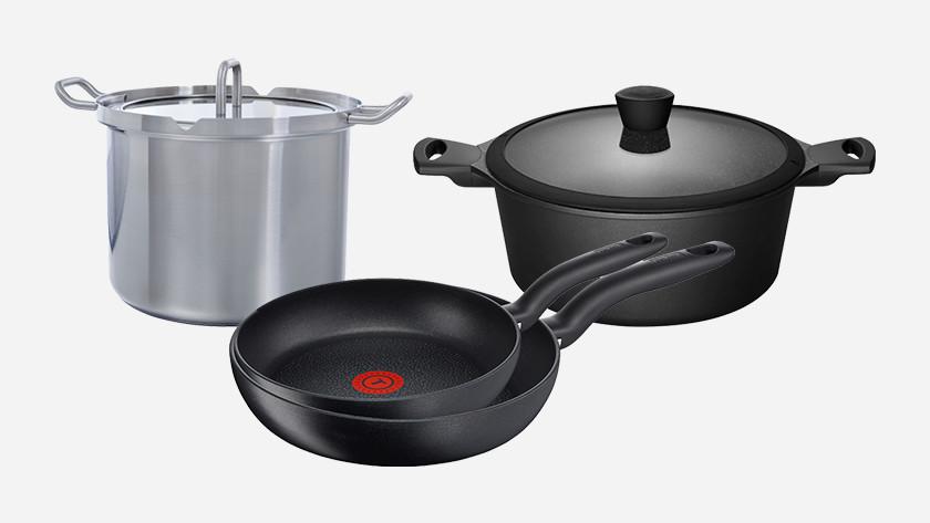 3 pans