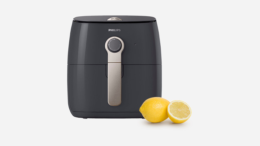 Philips airfryer with lemons