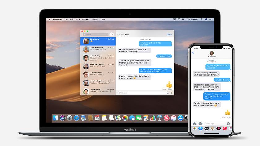 Use iMessage on Apple Macbook