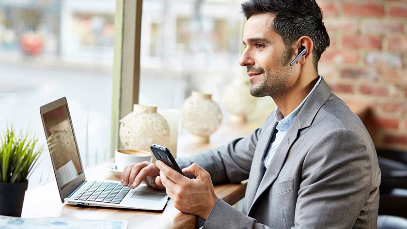 Muziek luisteren headset