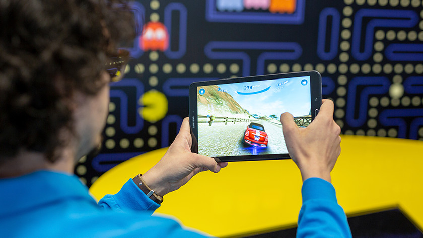 Tablette de jeu 3D