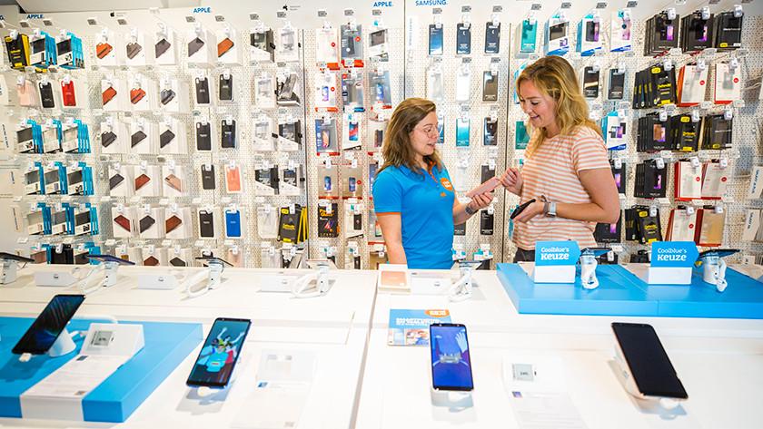 telefoonhoesjes bekijk Coolblue winkel tips