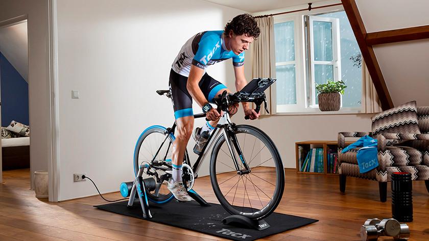 Wheel on fietstrainer
