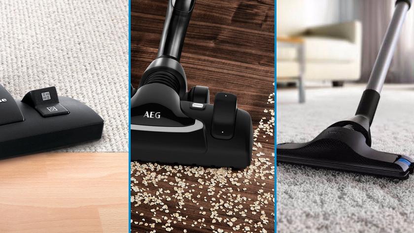 Vacuum your floor type