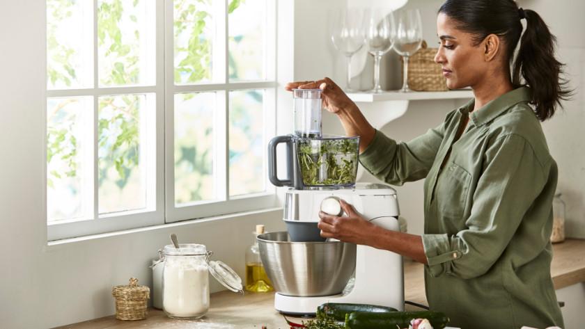 Keukenrobot hakken en raspen