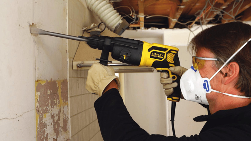 What should you keep in mind when it comes to a demolition hammer?