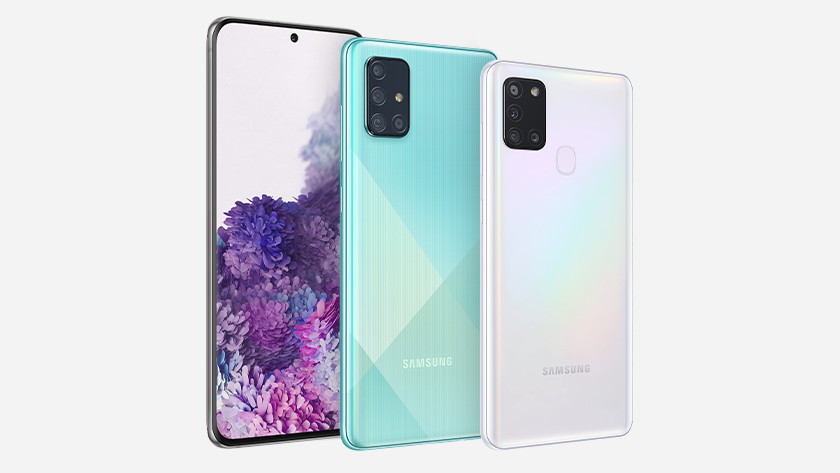 Samsung smartphone A51 S20 snel opladen