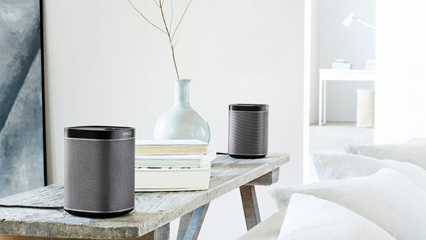 Enceinte stéréo Sonos pour le living