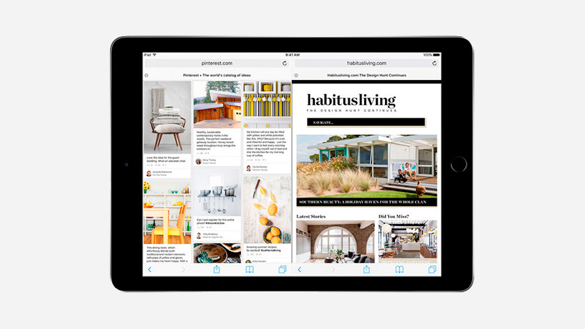 Multitâche sur l'iPad