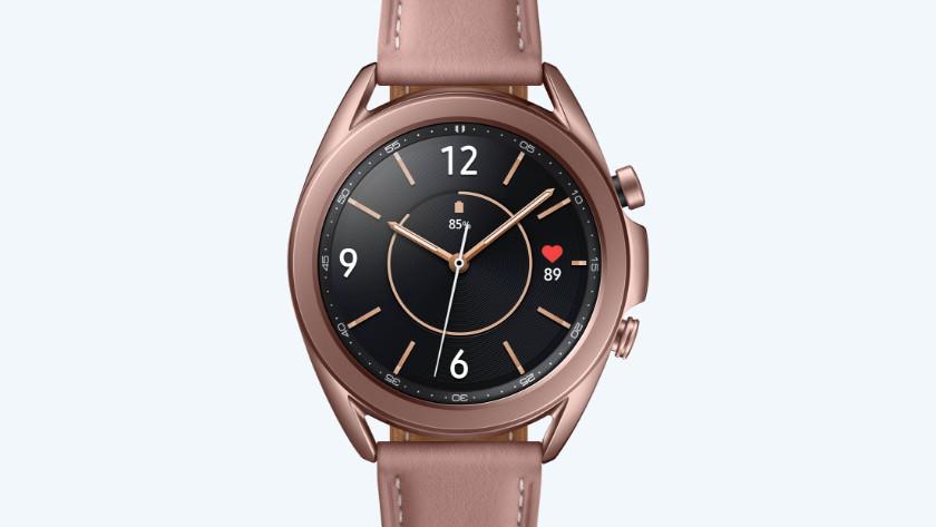 Samsung Galaxy Watch3 brons klok
