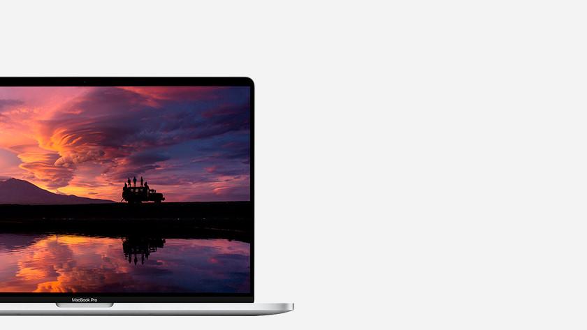 MacBook beeldscherm