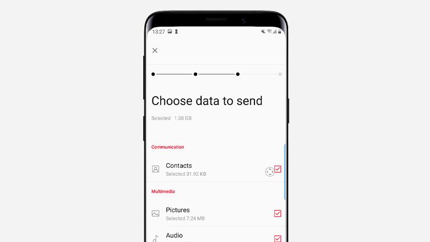 OnePlus data overzetten