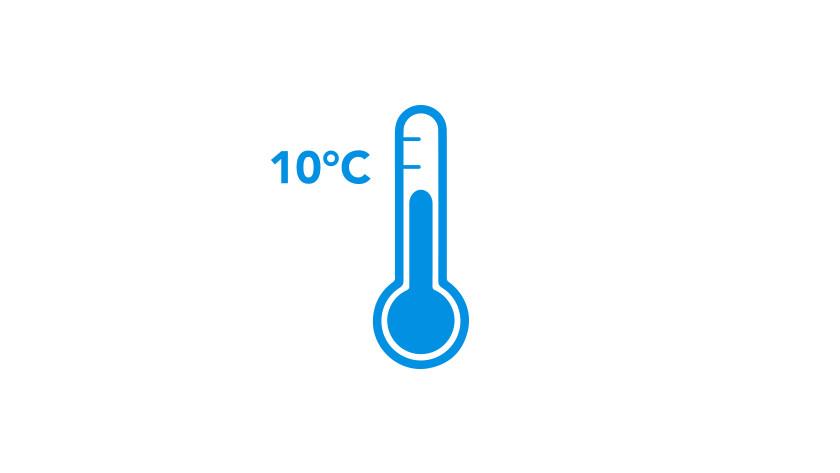 Thermometer (10 graden) visual