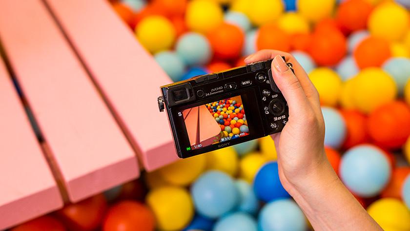 Focus with the Sony Alpha A6000
